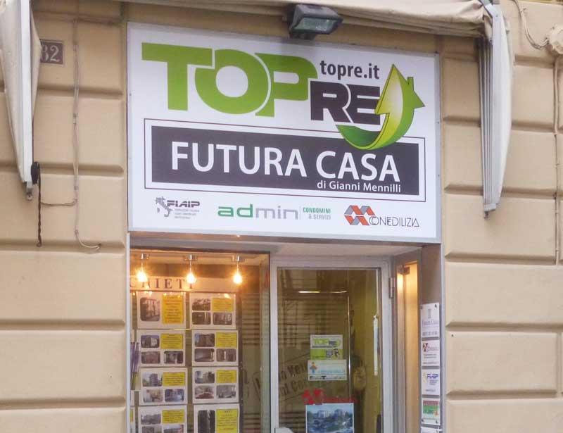 TopRE FUTURA CASA di Gianni Mennilli