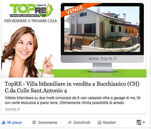 Visita la pagina ufficiale TopRE su Facebook!